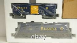 Lionel O Scale Alaska Railroad Diesel Train Set with Track Controller 6-11972 NEW