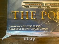 Lionel Polar Express Train Set#6-31960Large 40x60 Track80WFactory Sealed