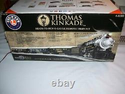 Lionel Thomas Kinkade Christmas Train Set #81395 with Sounds & RC (No Track)