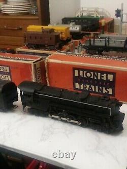Lionel Train Set 671& 2671W Plus 7 Cars Track 25 Straight 15 Curve1950's