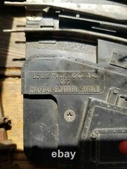 MARX / Lionel Lot O27 Switch Gauge Train Set, track, transformer, switches SEE PICS