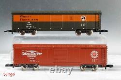 Märklin 81466 American Freight Train Starter Set Track, Trafo, Buildings NEW