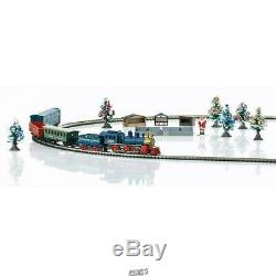 Marklin 81846 Z Scale Christmas Freight Train Set Complete Train, Track, Power