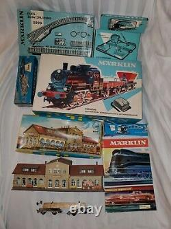 Marklin HO Train Collection Rare Vintage 1950s 80s Set Lot Nice! Some Boxed