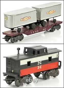 Marx 41822 New Haven E-7 Diesel Train Set with Set Box (No Track/Trans)
