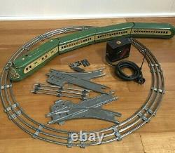 Marx M10000 Electric Union Pacific Cream and Green Train Set. Few missing tracks