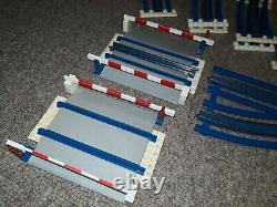 Massive Lego Systems 12V Electric Railway Train Tracks Vintage
