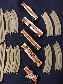 Micro machines SILVER TRAIN SET complete with track