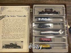 Minitrix N-Scale train set & tracks, The Swiss Krocodile Limited Edition (0658)