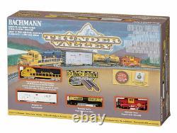 N Scale Bachmann 24013 ATSF Santa Fe Thunder Valley Train Set withE-Z Track