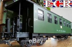 NEW G SCALE RC LOCO, COACH & TRACK, STARTER SET 45mm GAUGE GARDEN RAILWAY TRAIN