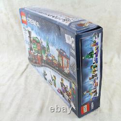 NEW LEGO Creator Winter Holiday Train 10254 Expert Christmas Engine Track RARE