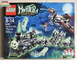 NEW Lego Monster Fighters The Ghost Train 9467 RETIRED HTF Track Halloween
