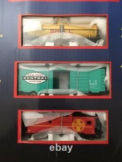 NEW Model Power Metal HO Train Set 800 The EXPLORER Locomotive Tank Car Track