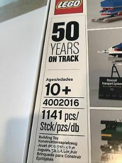 NISB Lego 50 Years On Track Exclusive Employee 2016 Xmas Gift Train 4002016