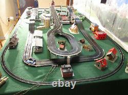 NMINT AURORA MoDEL MoToRING TJet Slot Atlas Tyco Road & Rail Train Track Car Set