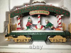 New Bright 384 Holiday Express Christmas Train Set G Scale witho Tracks UNTESTED