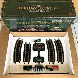 New Bright Holiday Express Animated Remote Control Train Set Christmas Santa