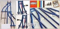 New LEGO 4.5v Trains 154 Switch Track 1-Left 1- Right Sealed RARE 1967