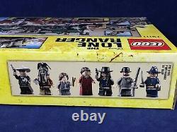 New LONE RANGER Lego 79111 CONSTITUTION TRAIN CHASE Steam Locomotive TRACK