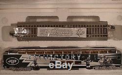 New York Jets 7 Pc Set Bachmann Hawthorne Village Train Set Tracks Control Mib