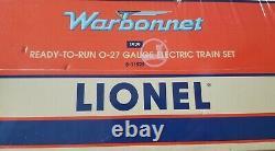 O Gauge Lionel 6-11929 ATSF Warbonnet Train Set 3-Rail Diesel Passenger Track