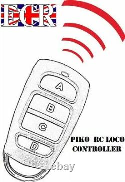 PIKO G SCALE 45mm GAUGE RC 2.4GHZ LOCO & TRACK SET RADIO REMOTE CONTROL TRAIN