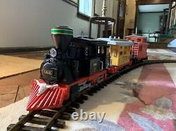 PLAYMOBIL Small Western Train Set 3958 Plus Extra Track And Transformer Upgrade