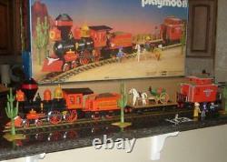 Playmobil 4033 playset G guage train set excellent runs great original LGB track