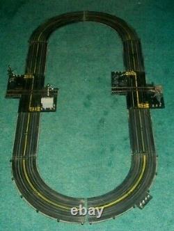 RARE Vintage Marx Rail & Road Slot Car Railroad Train Track Race Set