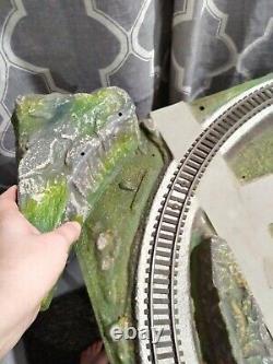 Rare American Flyer S Guage train track landscape panel set plus extras