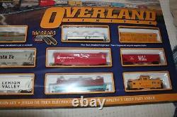 SBachmann #00614 Overland Limited HO Train Set withE-Z Track DCC, NIB