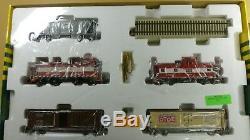 SHS, #1910 FRISCO Train Set, Engine, 5 Cars, Track, PowerPack Orig Box LOWER PRICE