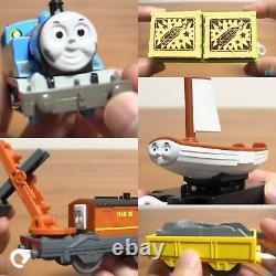 TAKARA TOMY Thomas Skiff Marion Plarail Trackmaster Motorized Toy Set +Tracking