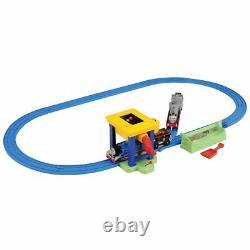 THOMAS & FRIENDS Journey Beyond Sodor MERLIN TOMY Plarail Coal Hopper Rail Set