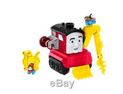 Thomas Friends Fisher Price Super Cruiser Track Set Train Toy 3 Mini Engines New