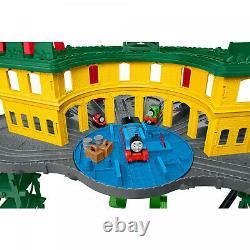 Thomas & Friends Super Station Train Track Set Kids Toy Playset Railway New