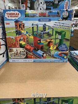 Thomas The Train Set Radio Controlled Tank Engine Track Cranky & Friends