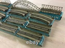 Top Marklin 7163 Arched Girder Bridge Set M -Tracks for H0 Train Layout