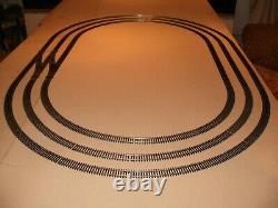 Triple Oval NickelSilver Track/Points Hornby Peco Train Set Model Railway Layout