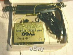 Tyco HO Train Set Lot Engine 7 Freight Cars Transformer Tracks Accessories 1974