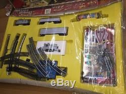 Tyco TRANSFORMERS Electric TRAIN & BATTLE SET Slot Track MIB Vintage