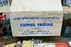 VINTAGE LIONEL TRAIN SET WithACCESSORIES/TRACK/TRANSFORMERS/ORIGINAL BOXES