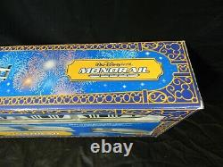 VINTAGE MICKEY MOUSE WALT DISNEY WORLD MONORAIL TRAIN SET With TRACK