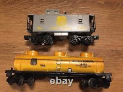 VTG. 1995 LIONEL UNION PACIFIC EXPRESS 71-1736-250 TRAIN SET with 6 Extra Tracks