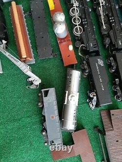 Vintage 1952 Gilbert American Flyer 3/16 Scale Train Set Huge lot 2 Engines