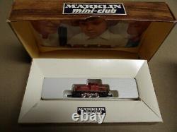 Vintage 8900 Marklin Mini-Club Scale Z Train Set + Extra 8864 ENGINE and TRACK