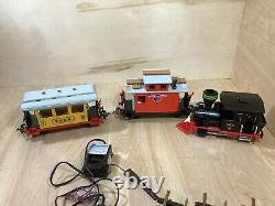 Vintage Geobra Playmobil 3958 Train Set Colorado Railroad Tracks With Box G Scale
