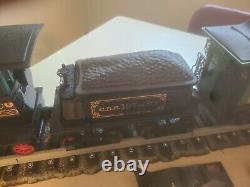 Vintage Jim Beam Decanter Train Set with tracks