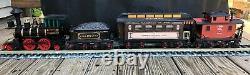 Vintage Jim Beam Decanter Train Set with tracks EUC